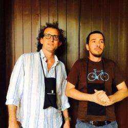 Gli organizzatori (da sx) Marco Nicolosi e Andrea Graziano