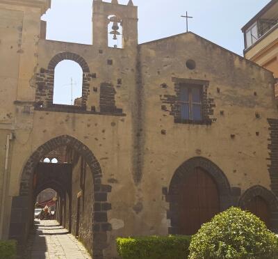La chiesa della Volta, sede della presentazione del libro di don Santino Spartà