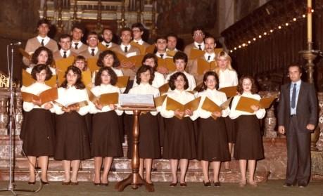 La formazione degli anni '80 diretta dal maestro Franco Greco