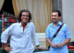Gli organizzatori Marco Nicolosi e Andrea Graziano