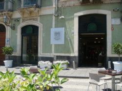 """La sede dell'associazione culturale """"Costarelli"""" nella centralissima piazza Duomo di Acireale"""