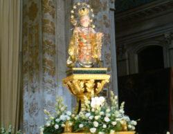 L'effigie di Maria SS.ma Bambina, che si venera nella chiesa di S. Maria degli Angeli (Cappuccini) in Acireale