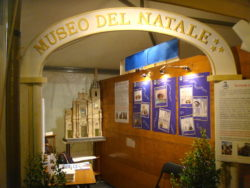 Lo stand del Museo del Natale San Francesco