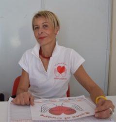 La presidente dell'associazione, Agata Pulitano