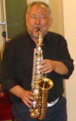 Il musicista Salvo Greco (Turi Sax)