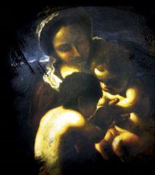 Guercino: Madonna col Bambino e San Giovannino
