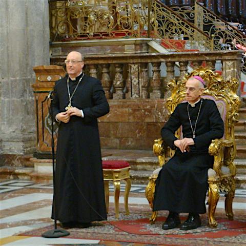 """Diocesi / La nomina di mons. Guglielmo Giombanco a vescovo di Patti. Un saluto ed un pensiero per tutti i componenti della sua """"nuova famiglia"""""""