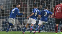 Calcio / Italia-Albania 2-0: De Rossi e Immobile tengono l'Italia in quota