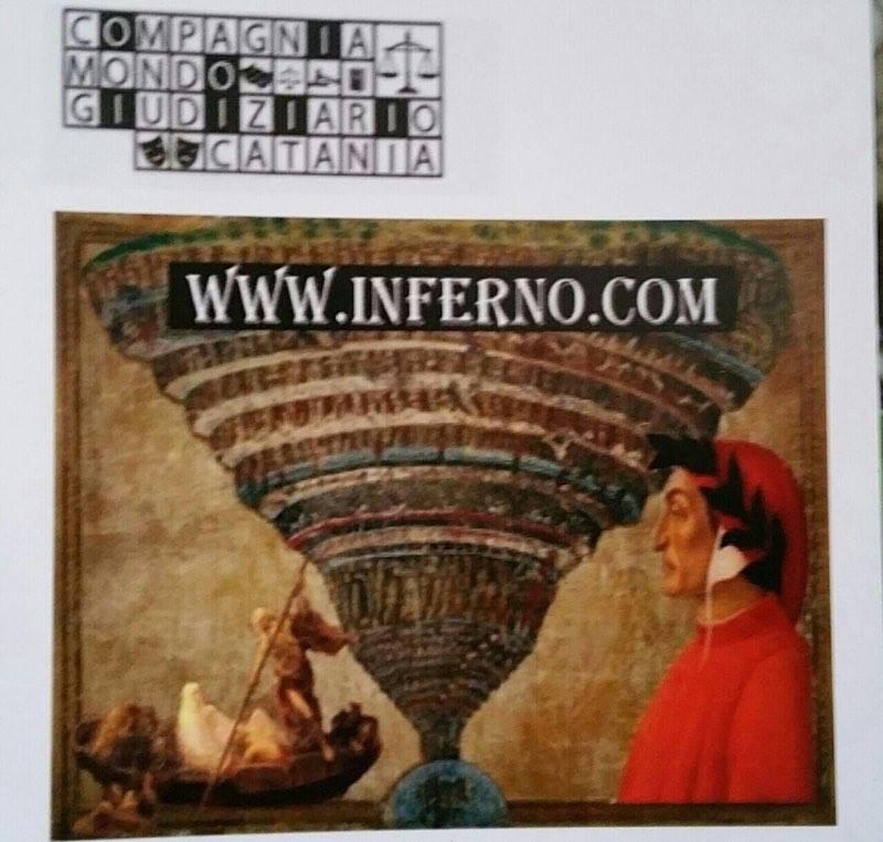 Solidarietà e spettacolo / Un Inferno dantesco in chiave ironica al Teatro Stabile di Catania.  Cast d'eccezione di magistrati, avvocati e cancellieri a favore dell'Airc
