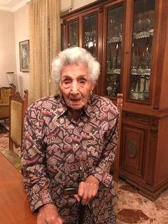 """Centenaria acese / Grazia Messina: """"La famiglia al primo posto nella mia vita e Dio sempre presente"""""""