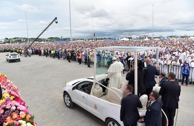 Papa Francesco in Colombia / Riconciliazione è la parola-chiave del viaggio apostolico