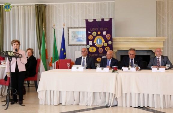 """Lions club Giarre-Riposto / Inaugurato l'anno sociale all'insegna del motto """"Umiltà e determinazione"""""""