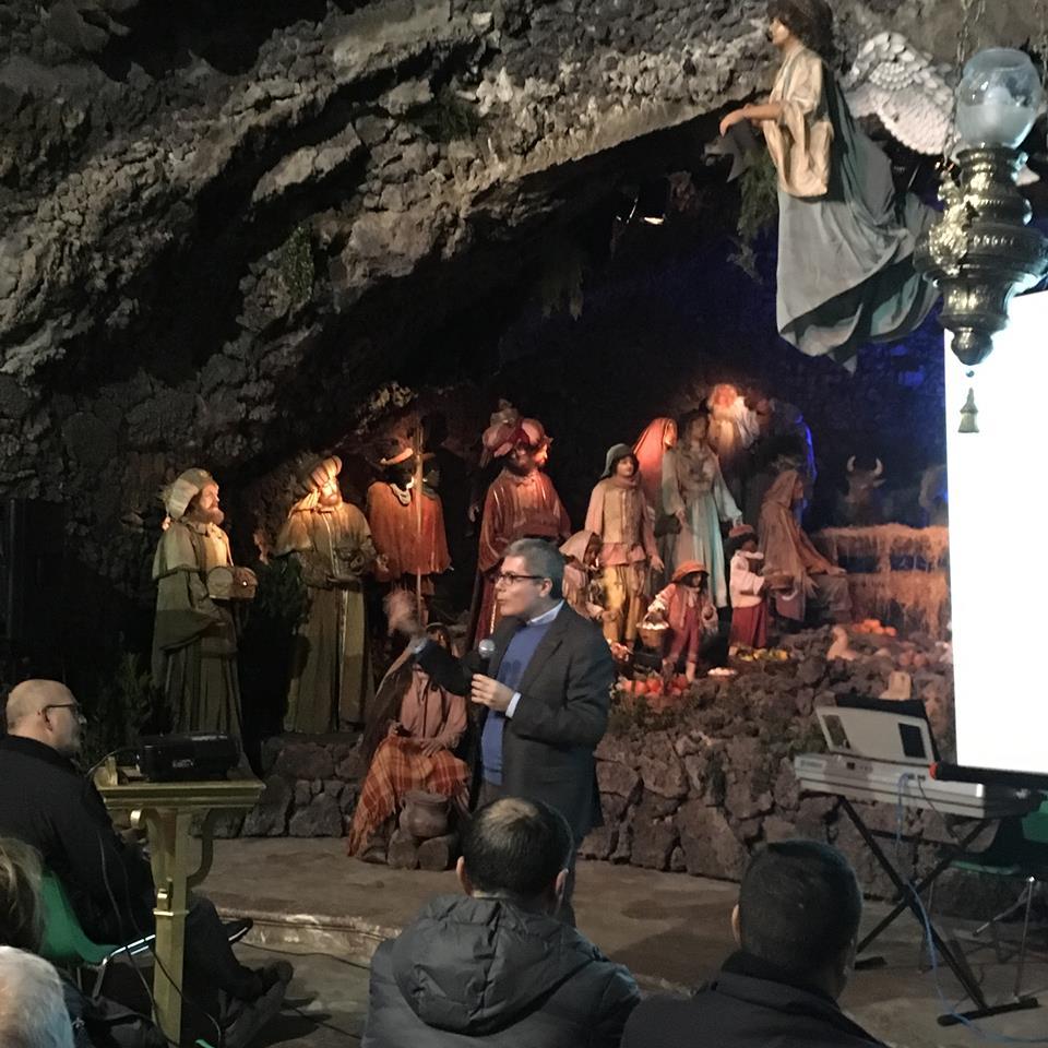 Tempo di Natale – 20 / Chiesa della Grotta, Acireale: Sandro Barbagallo racconta la rappresentazione della Natività nell'arte e nelle tradizioni popolari