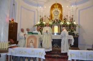 Acireale / Riaperta al culto la chiesa dell'Adorazione perpetua. Mons. Raspanti presiede la celebrazione della prima messa dopo il restauro
