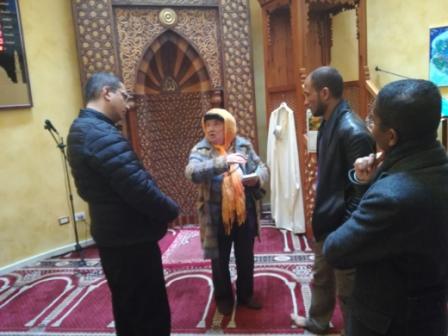 Catania / Con Mahmoud, visita alla splendida moschea dove i musulmani pregano cinque volte al giorno