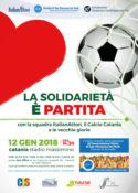 """Solidarietà / A Catania """"partita del cuore"""" a sostegno del centro di accoglienza della San Vincenzo"""