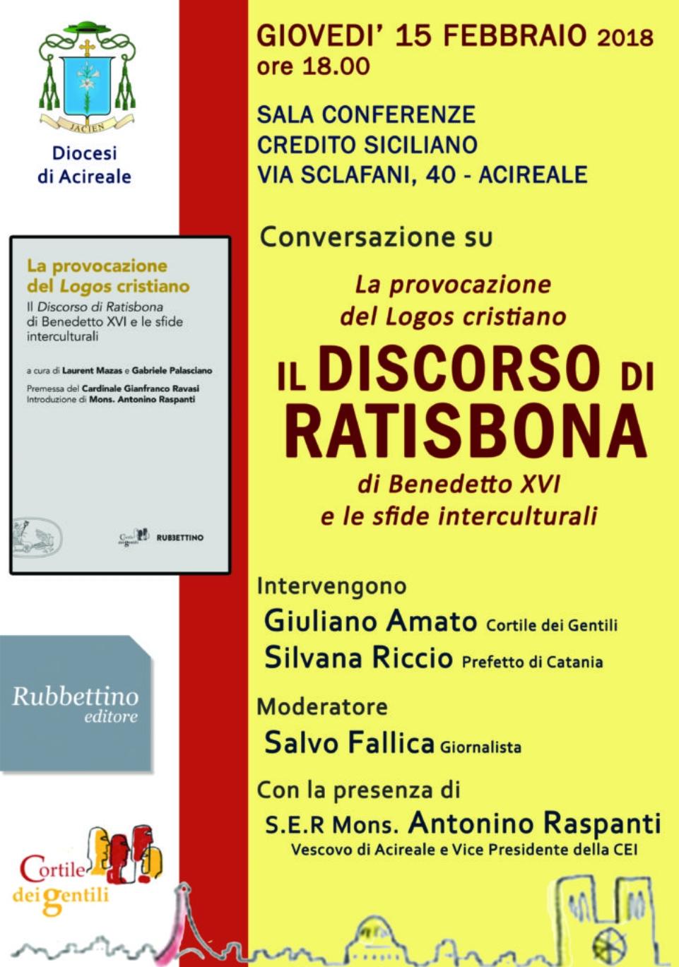 Cultura / La provocazione del Logos cristiano – Il Discorso di Ratisbona di Benedetto XVI e le sfide interculturali