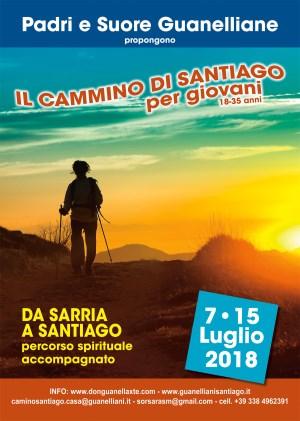 """Santiago di Compostela / I Guanelliani lanciano """"Una Settimana sul Cammino"""" per sensibilizzare i giovani alla straordinaria esperienza giacobea"""