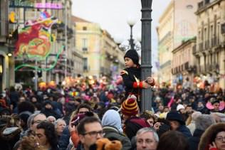 """Carnevale acese 2018 – 7 / 180 milioni di passi verso la luna: il contributo del popolo in maschera a """"M'illumino di meno 2018"""""""