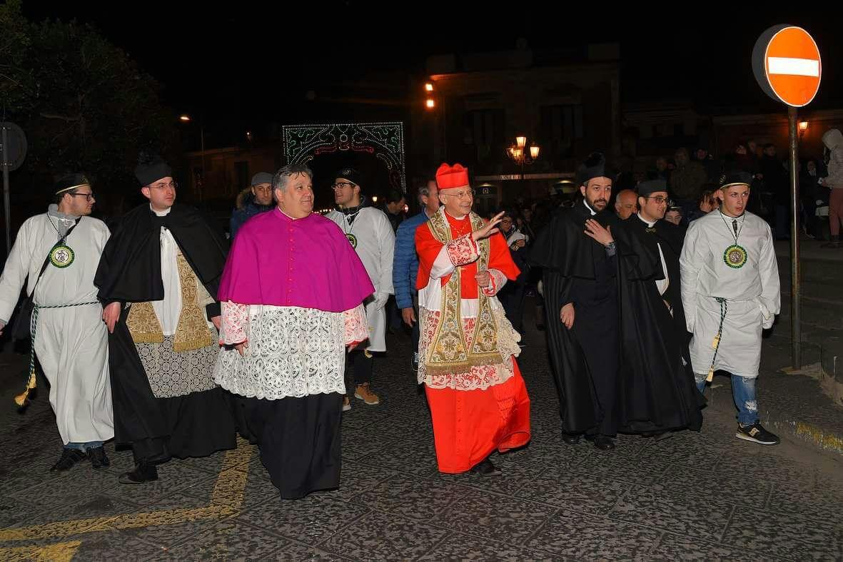 """Parrocchie / Il card Bagnasco ad Aci S. Filippo nel bicentenario del """"Patrocinio di S. Filippo d'Agira"""""""