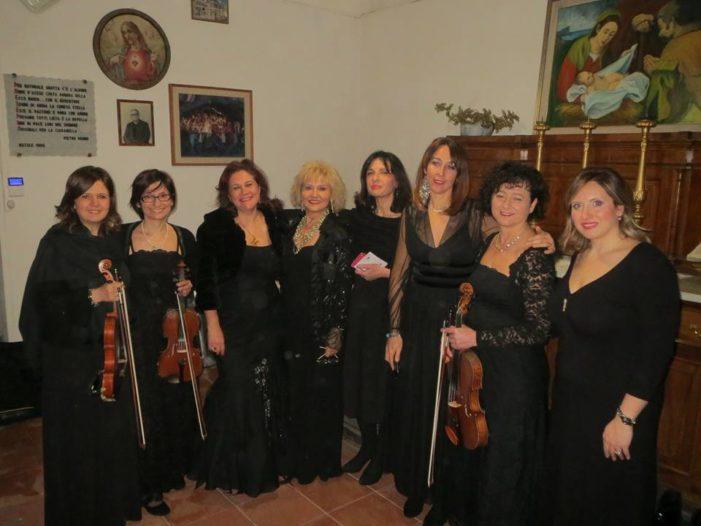 """Acireale / Grande successo di pubblico alla chiesa della Grotta per il concerto """"Ritratto di donne"""""""
