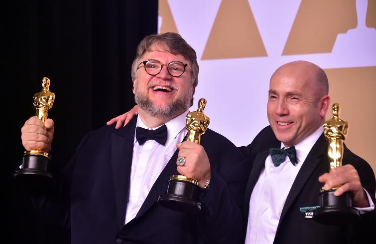 Notte degli Oscar 2018 / Vince La forma dell'acqua di Guillermo del Toro. Miglior sceneggiatura non originale a James Ivory