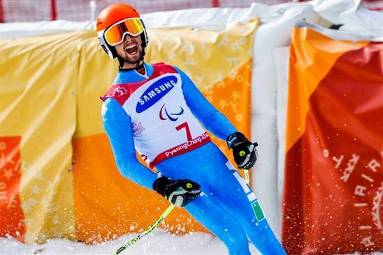 Paralimpiadi / Ecco la medaglia d'oro: strepitosi Bertagnolli e Casal nel gigante