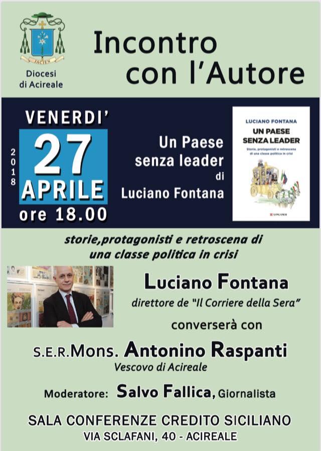 Incontro / Un Paese senza leader. Conversazione tra Mons. Raspanti e Luciano Fontana