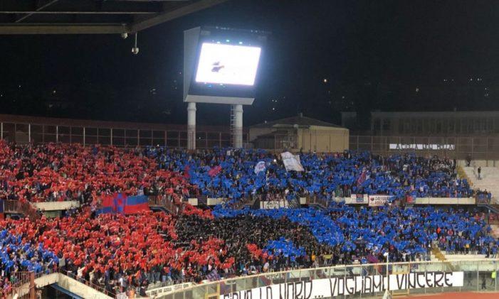 """Calcio Catania / Il Trapani vince. I rossazzurri deludono i 18.000 del """"Massimimo"""""""