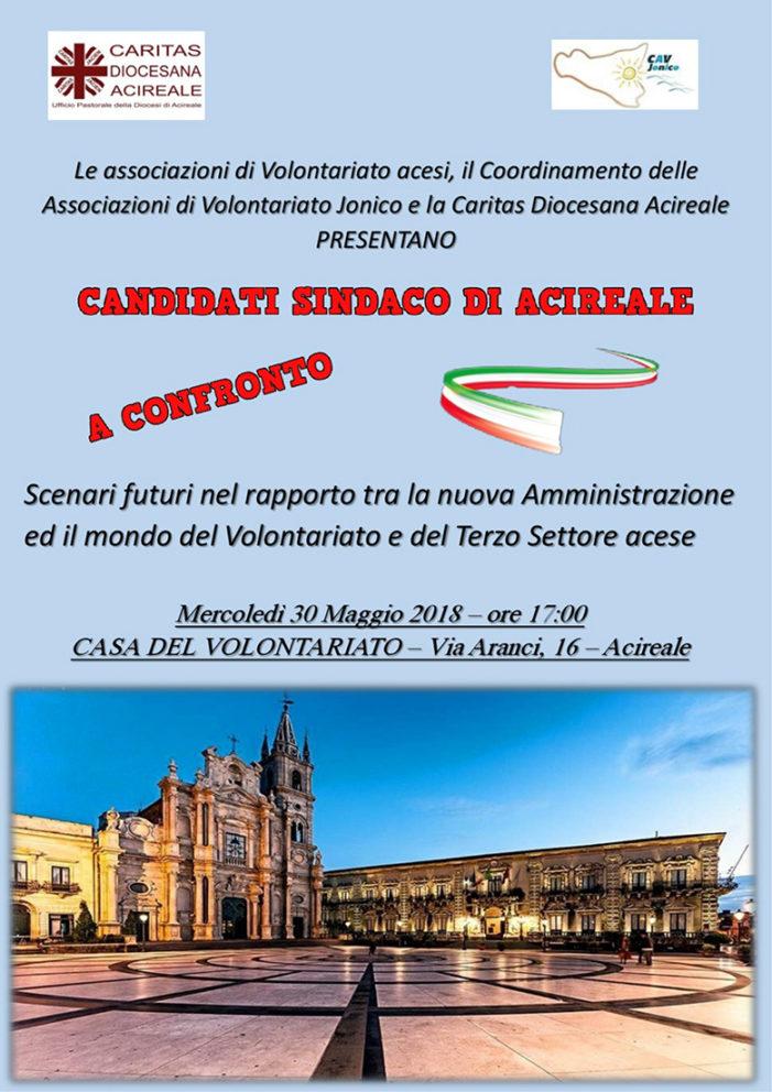 Acireale / Il mondo del volontariato incontra i cinque candidati sindaco
