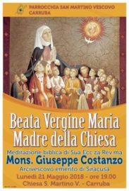 Giorno Di San Martino Calendario.Parrocchie A San Martino Di Carruba Mons Costanzo