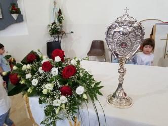 """Ramacca / Il culto della """"Santa dei casi impossibili"""": la reliquia di S. Rita per tre giorni nelle case dei fedeli"""