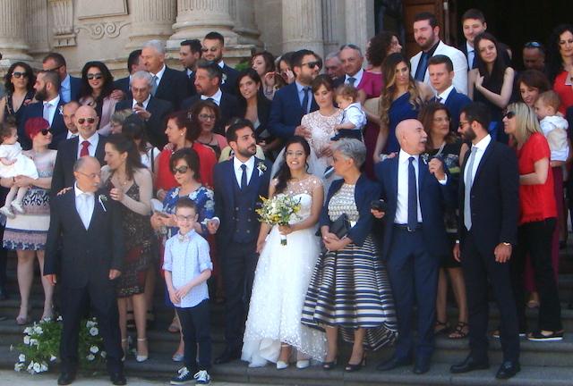 Acireale / Verusca e Sergio, un matrimonio originale e ricco di novità