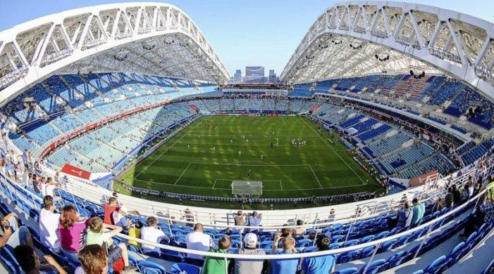 Calcio /Stadi Mondiali: Stadio Olimpico Fist di Soči