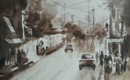 """Mostre / """"One Hundred"""", cento acquerelli della diciassettenne Parmida Rahamanian in esposizione dal 5 luglio a Catania"""