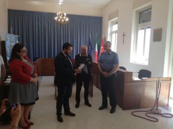 Santa Venerina / Il maresciallo dei Cc Calabretta trasferito a Giarre, gli subentra il luogotenente Russo