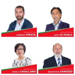 Santa Venerina / Assegnate le deleghe assessoriali: Di Paola, Cavallaro, Fresta e Garozzo i magnifici quattro del sindaco Greco