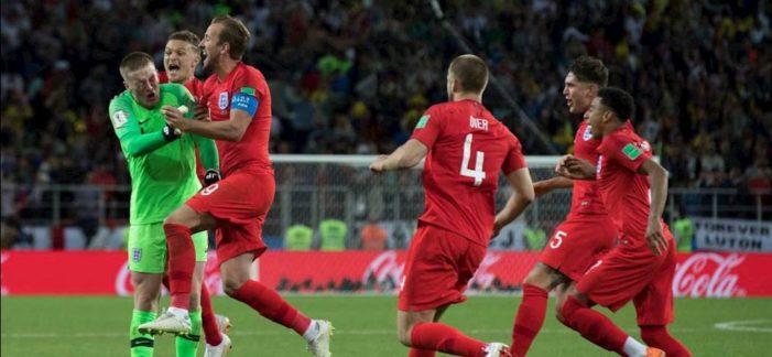 Calcio / Mondiali 2018: La Svezia si arrende, l'Inghilterra vince 2-0 e vola in semifinale