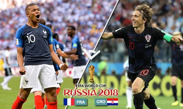 Calcio / Mondiali 2018. Tensione a mille per la finalissima: Francia e Croazia si giocano il titolo mondiale