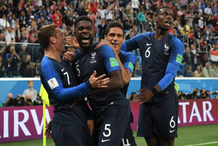 Calcio / Mondiali 2018: Umtiti manda in finale la Francia, Belgio sconfitto 1-0