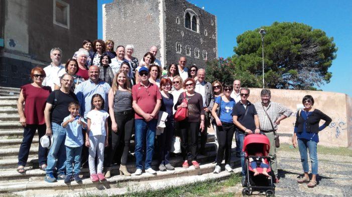 """Cultura e turismo / L'associazione """"Acis"""" in visita a Paternò, con l'affascinante museo """"Savasta""""e le """"Salinelle"""""""