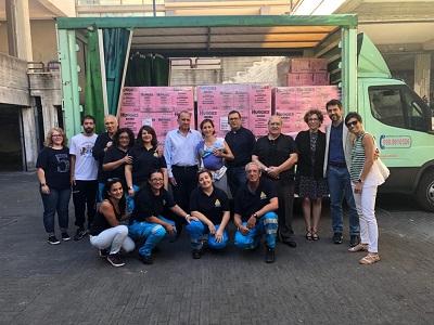 """Solidarietà concreta / """"Coop Alleanza 3.0"""" dona 800 confezioni di pannolini alle famiglie di Librino"""