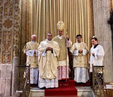 """Ordinazioni / Orazio Sciacca, neo-presbitero: """"La carità pastorale sia sempre lo stile del mio ministero"""""""