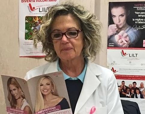 """LILT / Conclusa la campagna """"Nastro Rosa For Women"""". La vicepresidente Scalisi: """"Informare e prevenire"""""""