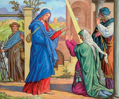 Vangelo della domenica (23 dicembre) / La visita di Dio porta gioia nella vita di ogni uomo