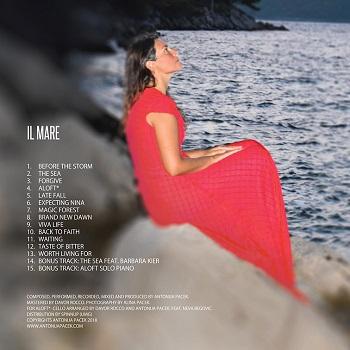 """Musica / Le sfide della vita nel nuovo album """"Il mare"""" di Antonija Pacek"""