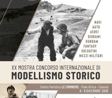 Catania / Oggi e domani alle Ciminiere mostra concorso di modellismo storico