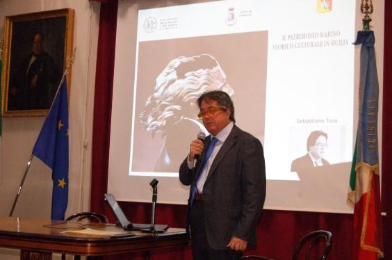 Acireale / Il patrimonio marino storico-culturale in Sicilia in una dotta relazione del prof. Sebastiano Tusa