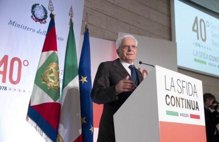 """Sanità / Il servizio nazionale compie 40 anni. Mattarella: """" Eccellenza da mantenere e migliorare"""". Grillo: """"Non cederemo a privatizzazione"""""""