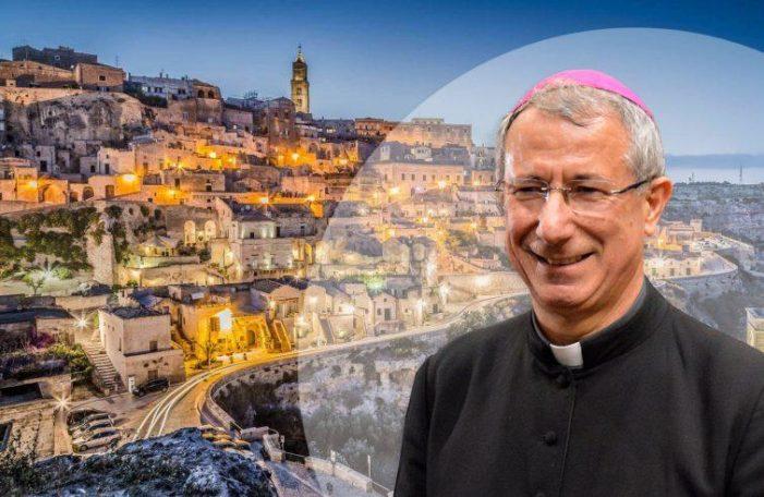 """Cultura / Matera è capitale europea per il 2019. Mons. Caiazzo: """"Verso un nuovo umanesimo"""""""